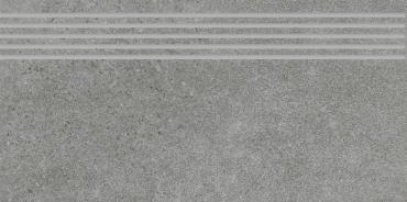 Ступень Paradyz Optimal Antracite Stopnica Prosta Nacinana Mat. 29,8x59,8 матовая