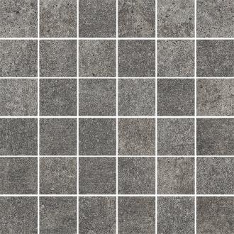 Riversand Grafit Mozaika Cieta K.4,8X4,8 Mat.