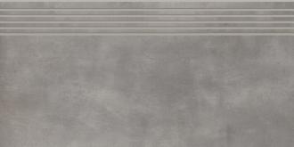 Tecniq Silver Stopnica Prosta Nacinana Mat.