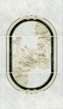 Панно Intercerama Pietra П20011 40x69 глянцевое