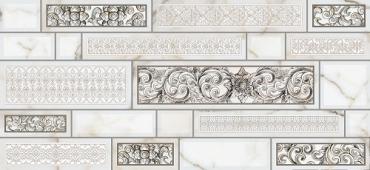 Декоративный элемент Intercerama Plaza Д95071 23x50 глянцевый
