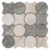 Recupera Mosaico Cerchi Bianco-Grafite