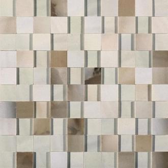 Alabastri Bamboo Mosaico 3D Lap. Rett. 739966