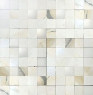 I Bianchi Calacatta Mosaico 3D Mix 727537