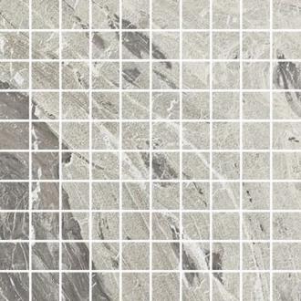 I Marmi Marble Gray Mosaico 3D Mix 729068