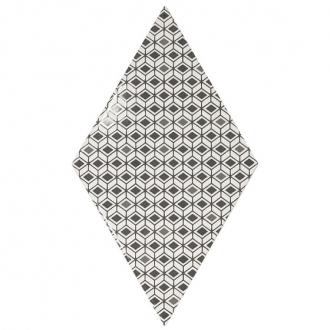 Rhombus Pattern B&W