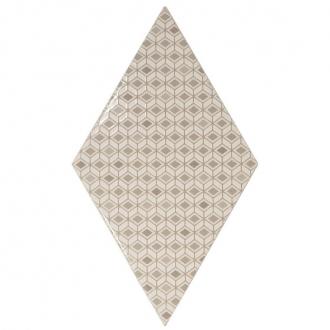 Rhombus Pattern Cream