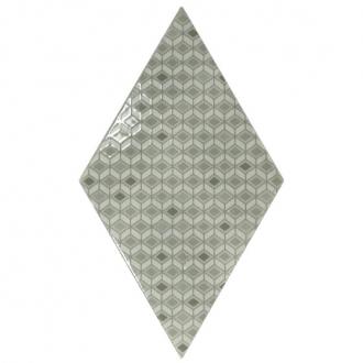 Rhombus Pattern Mist Green
