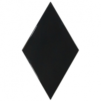 Rhombus Wall Black