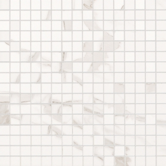 Roma Diamond Statuario Mosaico fNH3