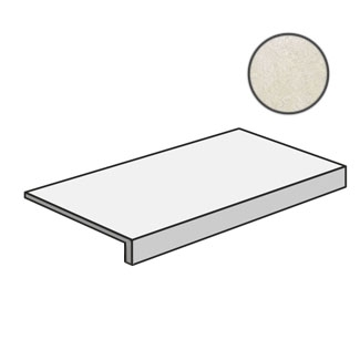 Tufi Elemento L Monolitico Bianco SEL44850M