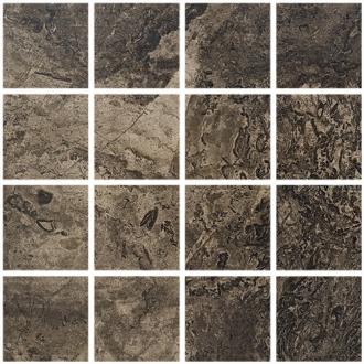 Мозаика Fossil Brown Lappato