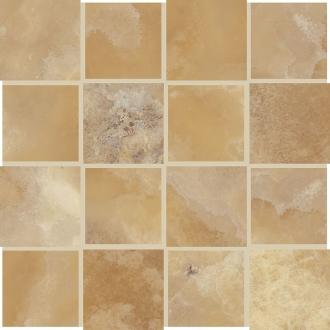Сharme Mosaico Dama Bidimensionale Onice Gold 44295