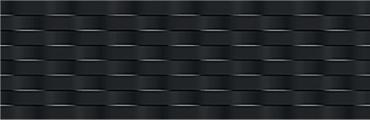 Плитка Marazzi Espana Soul Wave-BLK76G D730 25x76 глянцевая