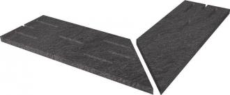 Stonetrack T20 Dark Griglia Angolare 2 Pz. SDAG