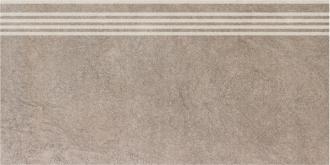Ступень Королевская дорога коричневый светлый обрезной SG614400R/GR