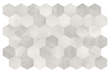 Декоративный элемент Terratinta Betonaxis White-Grey TTBAEWG 18,2x21 матовый