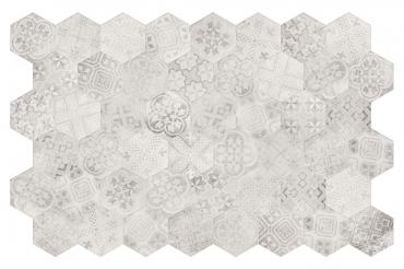 Декоративный элемент Terratinta Betonaxis White-Grey TTBAEWGMIX 18,2x21 матовый
