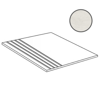 Ступень Terratinta Betonaxis White TTBA01GN 30x60 матовая