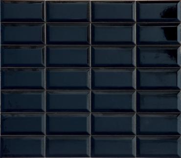 Плитка Terratinta Betonbrick Black Glossy TTBB71BDGW 7,5x15 глянцевая