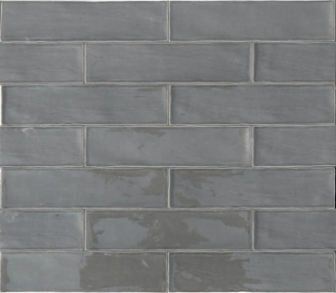 Плитка Terratinta Betonbrick Mud Glossy TTBB73MGW 7,5x30 глянцевая