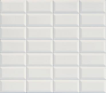 Плитка Terratinta Betonbrick White Glossy TTBB71WDGW 7,5x15 глянцевая