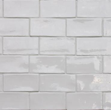 Плитка Terratinta Betonbrick White Glossy TTBB71WGW 7,5x15 глянцевая