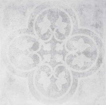 Декоративный элемент Terratinta Betonepoque White-Grey Emma 03 TTBEWG03N 20x20 матовый