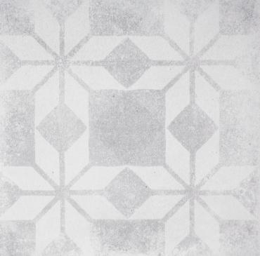 Декоративный элемент Terratinta Betonepoque White-Grey Sarah 08 TTBEWG08N 20x20 матовый