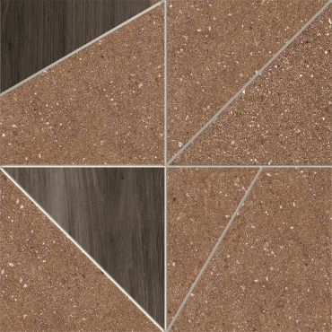 Декоративный элемент Terratinta Grained Rust Libeccio Moka TTGR03MT29N 29x29 матовый