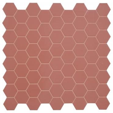 Мозаика Terratinta Hexa Cherry Pie TTHX06MHN 31,6x31,6 матовая