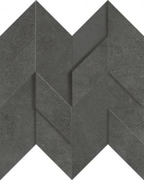 Мозаика Terratinta Kos Antracit TTKO05MF3DN 30x30 структурированная
