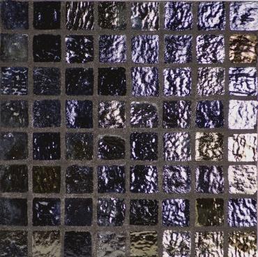 Мозаика Terratinta Vetri 5 Black BWMN400 31x31 глянцевая