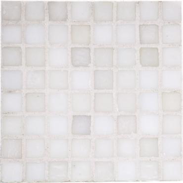 Мозаика Terratinta Vetri 5 White BWMN405 31x31 матовая
