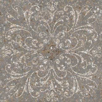 Терраццо коричневый декорированный обрезной SG632300R