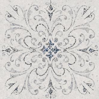 Терраццо серый светлый декорированный обрезной SG632500R