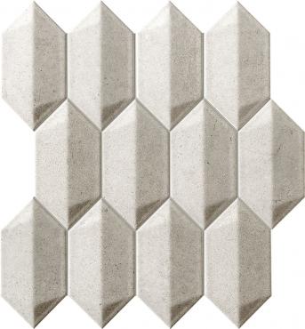 Мозаика Tubadzin Bellante Grey 26,5x29,1 матовая
