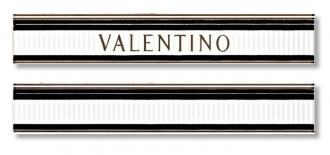 List. V Elite Bianco/Nero MRV178