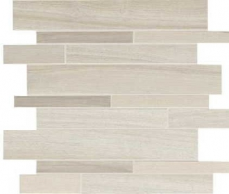Tabula Bianco Mosaico Listellato G920180