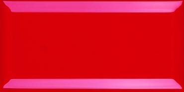 Плитка Veneto B-10 Rojo 10x20 глянцевая