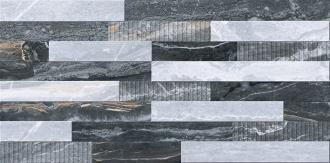 Bergamo 3D Микс Декор Холодная гамма Лпр K946622