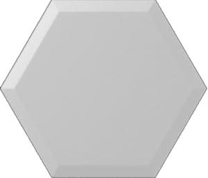 Subway Lab Mini Hexa Bevel Ice White Matt