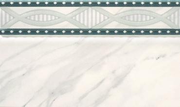 Бордюр Rocersa Zocalo Versalles Perla 15x25 глянцевый