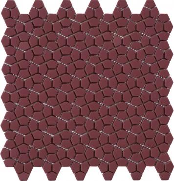 Мозаика Peronda 20125 D.Mosaic Kin Bordeaux 30,5x30,5 матовая