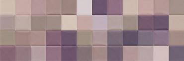 Мозаика Sant Agostino Abita Moda Lilla Mix 20x60 полированная