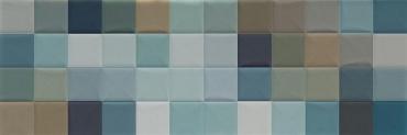 Мозаика Sant Agostino Abita Moda Menta Mix 20x60 полированная