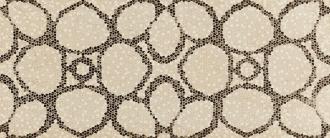 Absolute Fascia Fiore Mosaico Crema Marfil