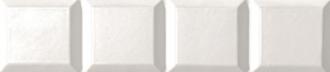 Absolute Listello White Diamond