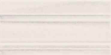 Бордюр Adex ADMO5211 Cornisa Clasica C/C Blanco 7,5x15 глянцевый