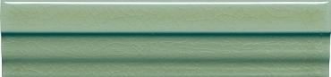 Бордюр Adex ADMO5222 Cornisa Clasica C/C Verde Claro 3,5x15 глянцевый